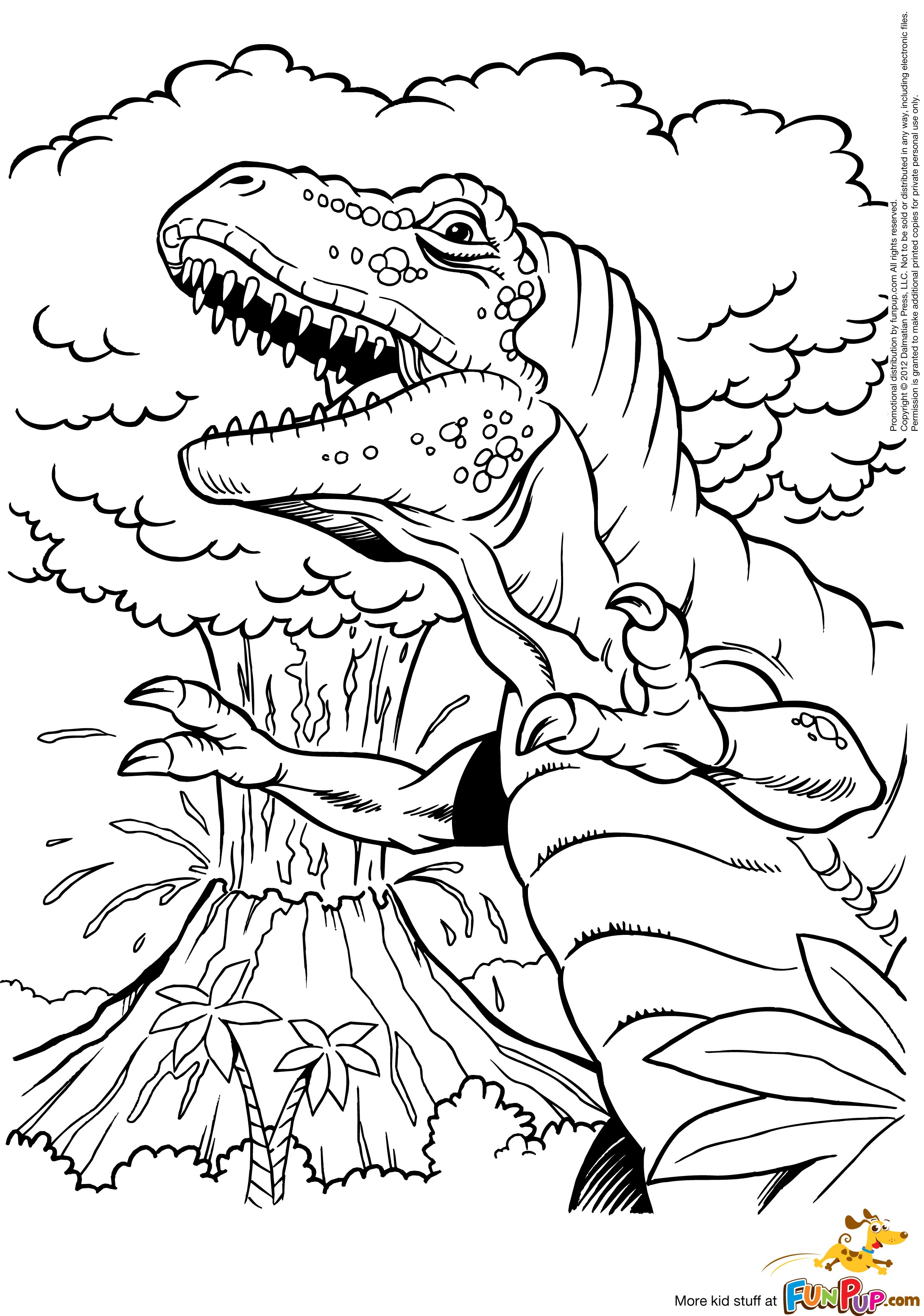 Volcano 166595 Nature Printable Coloring Pages