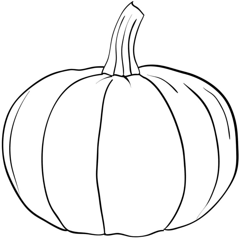Pumpkin #166828 (Objects) - Printable coloring pages