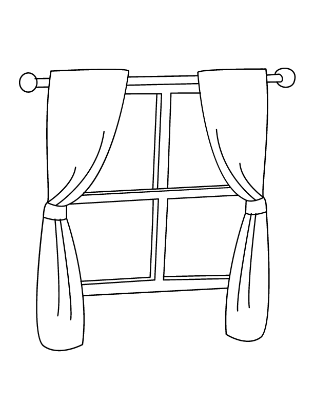 window 168791 objects printable coloring pages window 168791 objects printable