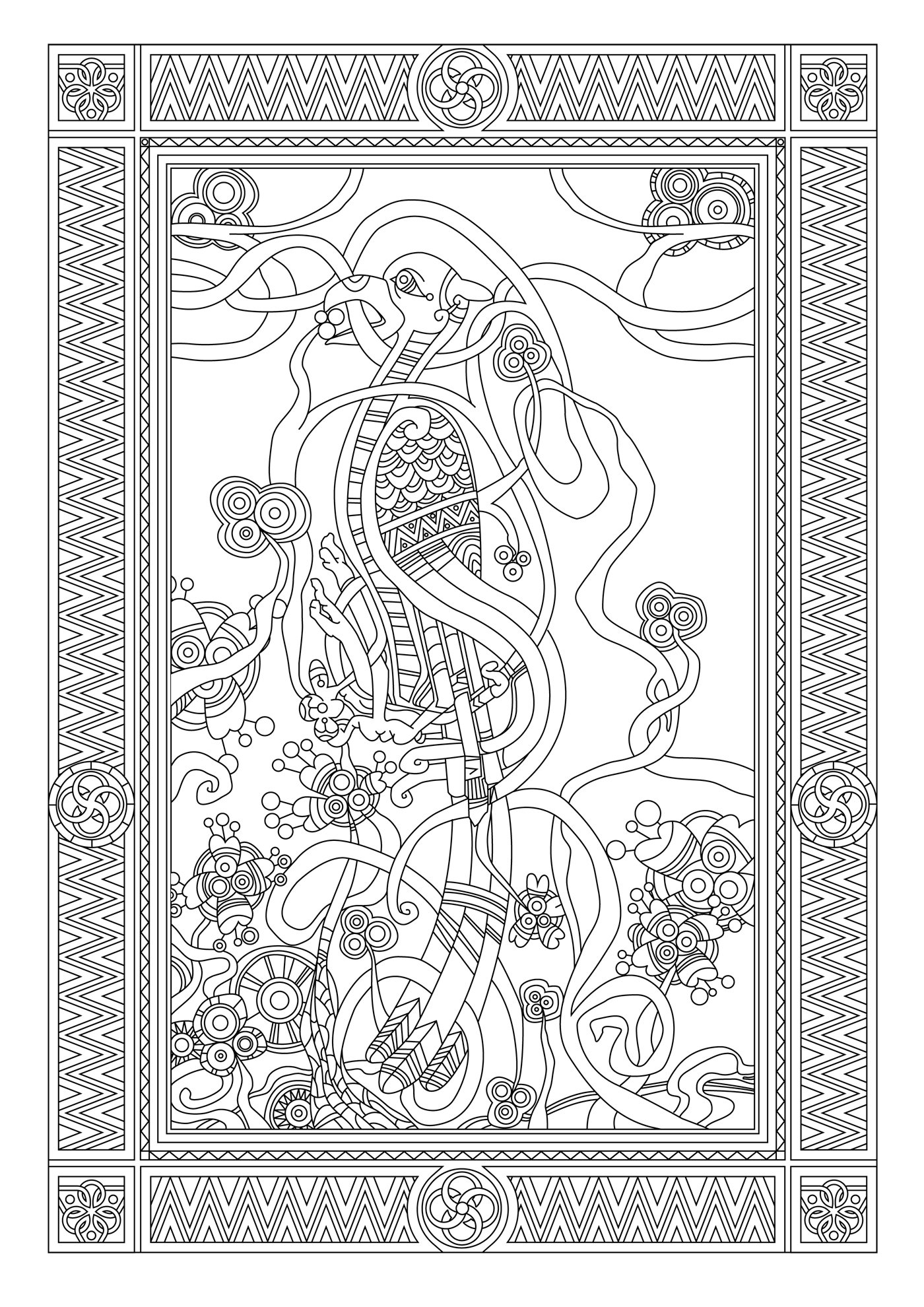 Anti-stress #126781 (Relaxation) - Printable coloring pages