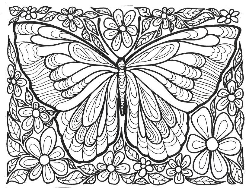 - Anti-stress (Relaxation) – Printable Coloring Pages