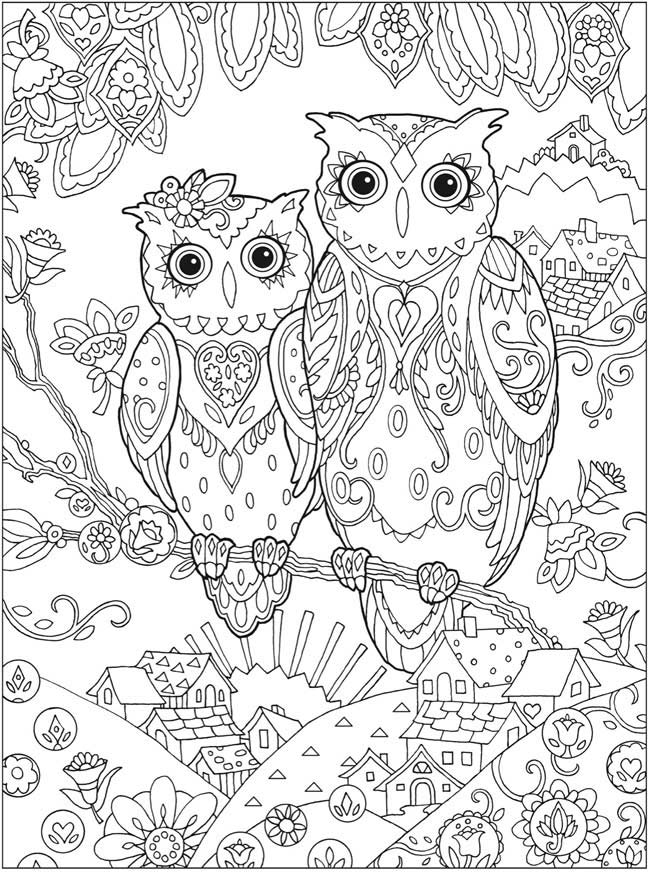 Anti-stress #28 (Relaxation) - Printable coloring pages