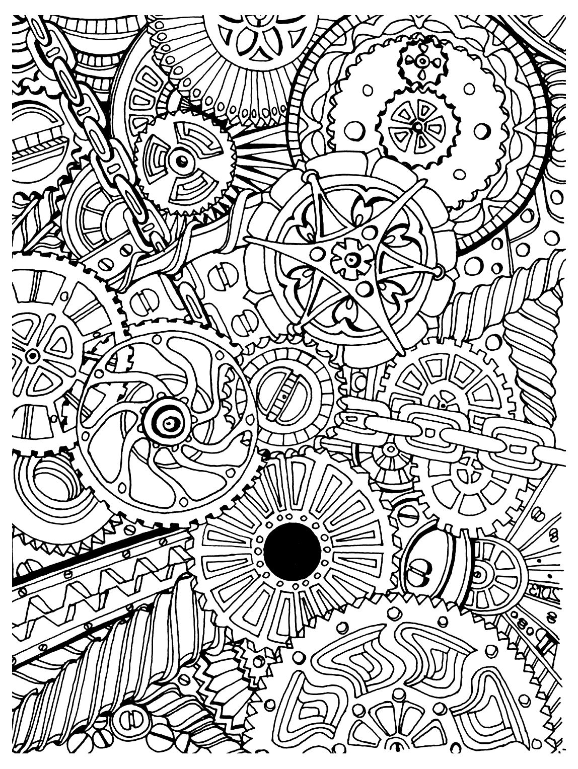 Anti-stress #126909 (Relaxation) - Printable coloring pages
