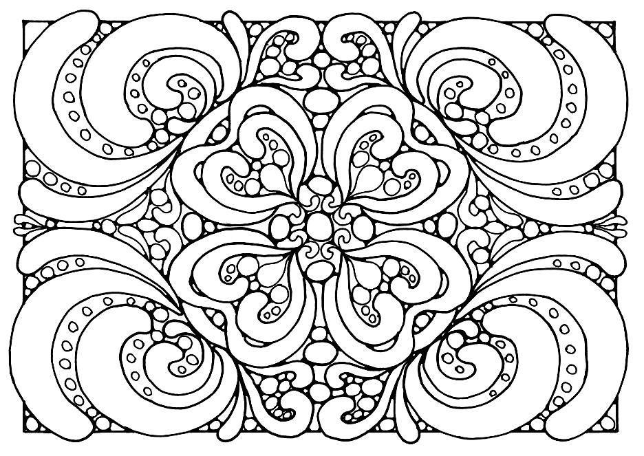 Anti-stress #126968 (Relaxation) – Printable Coloring Pages