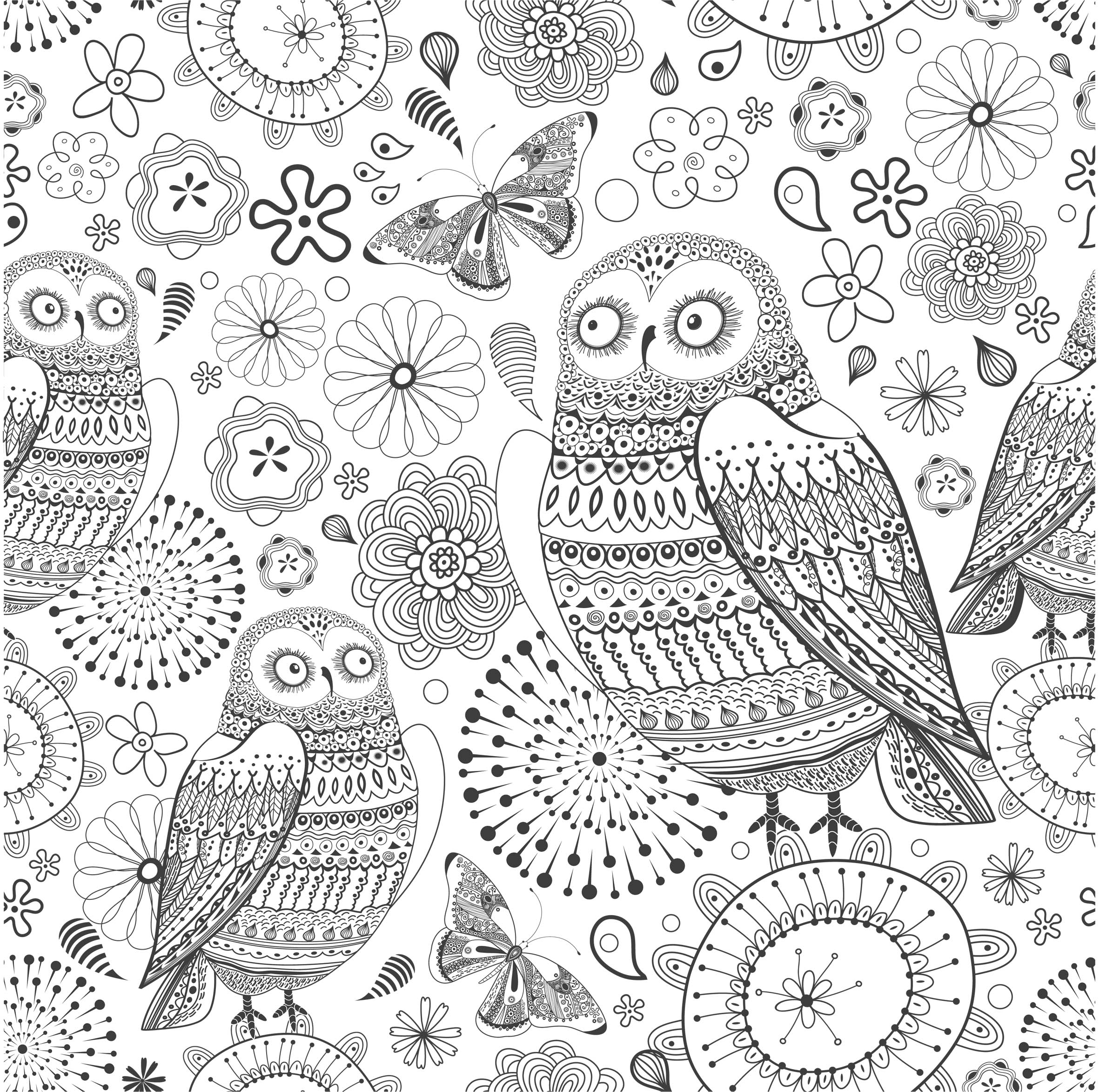 Art Therapy #23099 (Relaxation) - Printable coloring pages
