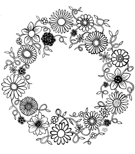 Art Therapy #23101 (Relaxation) – Printable Coloring Pages