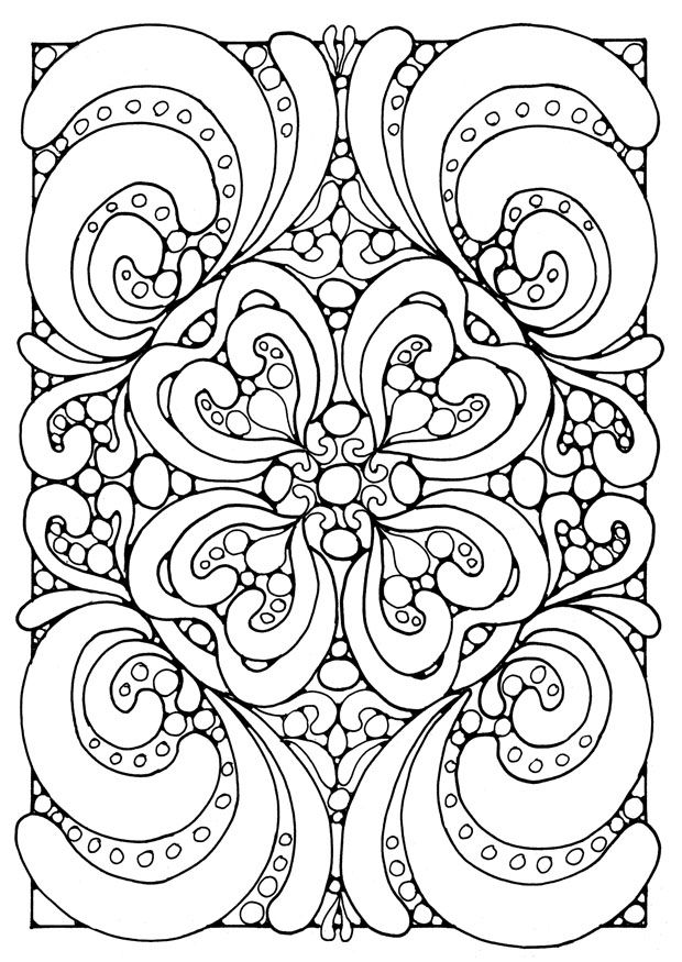 Art Therapy #23151 (Relaxation) – Printable Coloring Pages