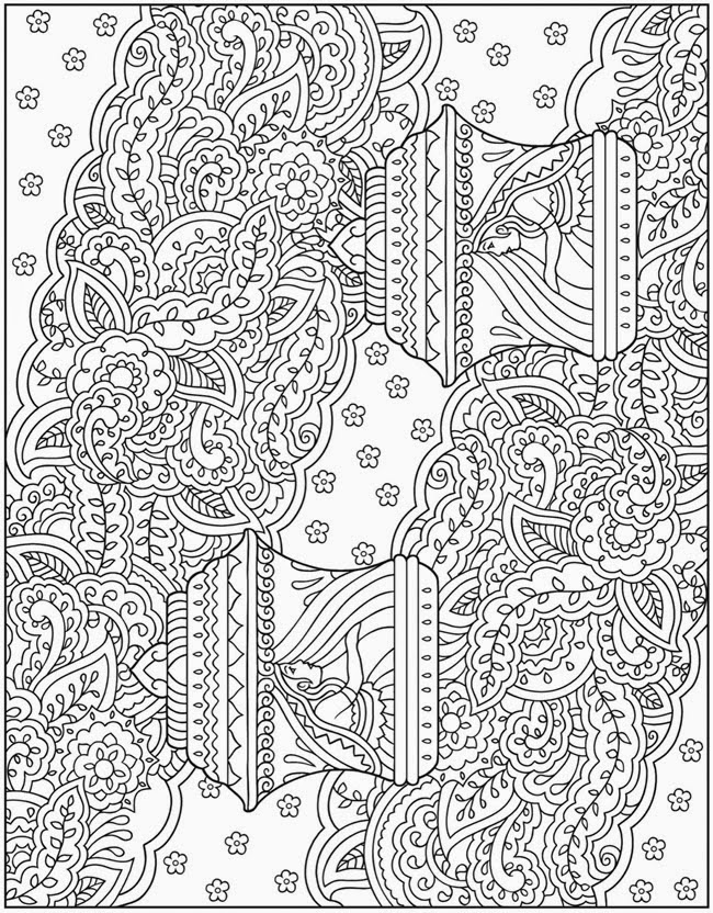 Art Therapy #23202 (Relaxation) - Printable coloring pages
