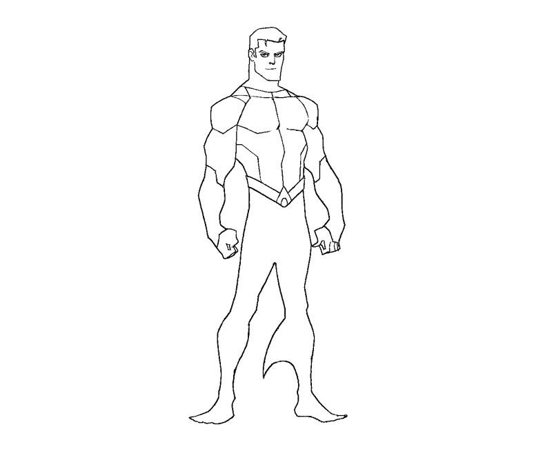 Aquaman 85162 Superheroes Printable Coloring Pages