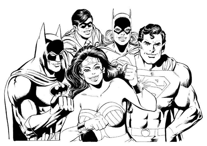 Avengers #74058 (Superheroes) - Printable coloring pages