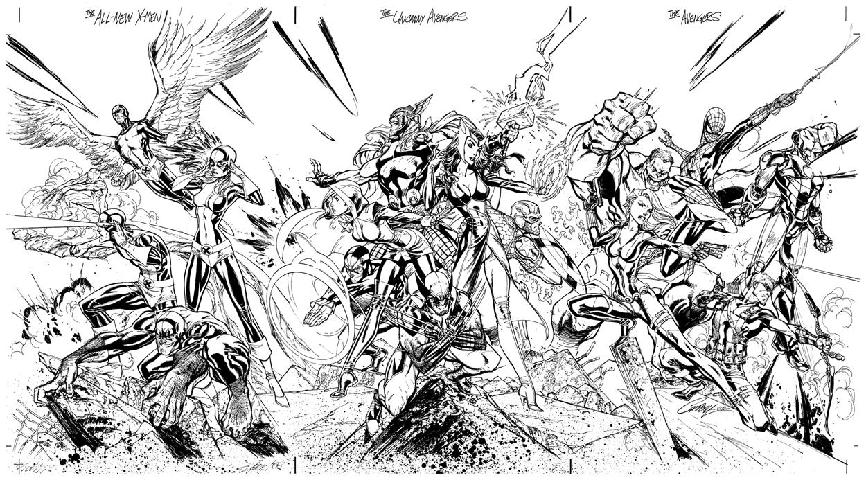 Avengers 74071 Superheroes Printable Coloring Pages