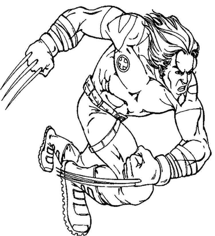 Avengers 74101 Superheroes Printable Coloring Pages