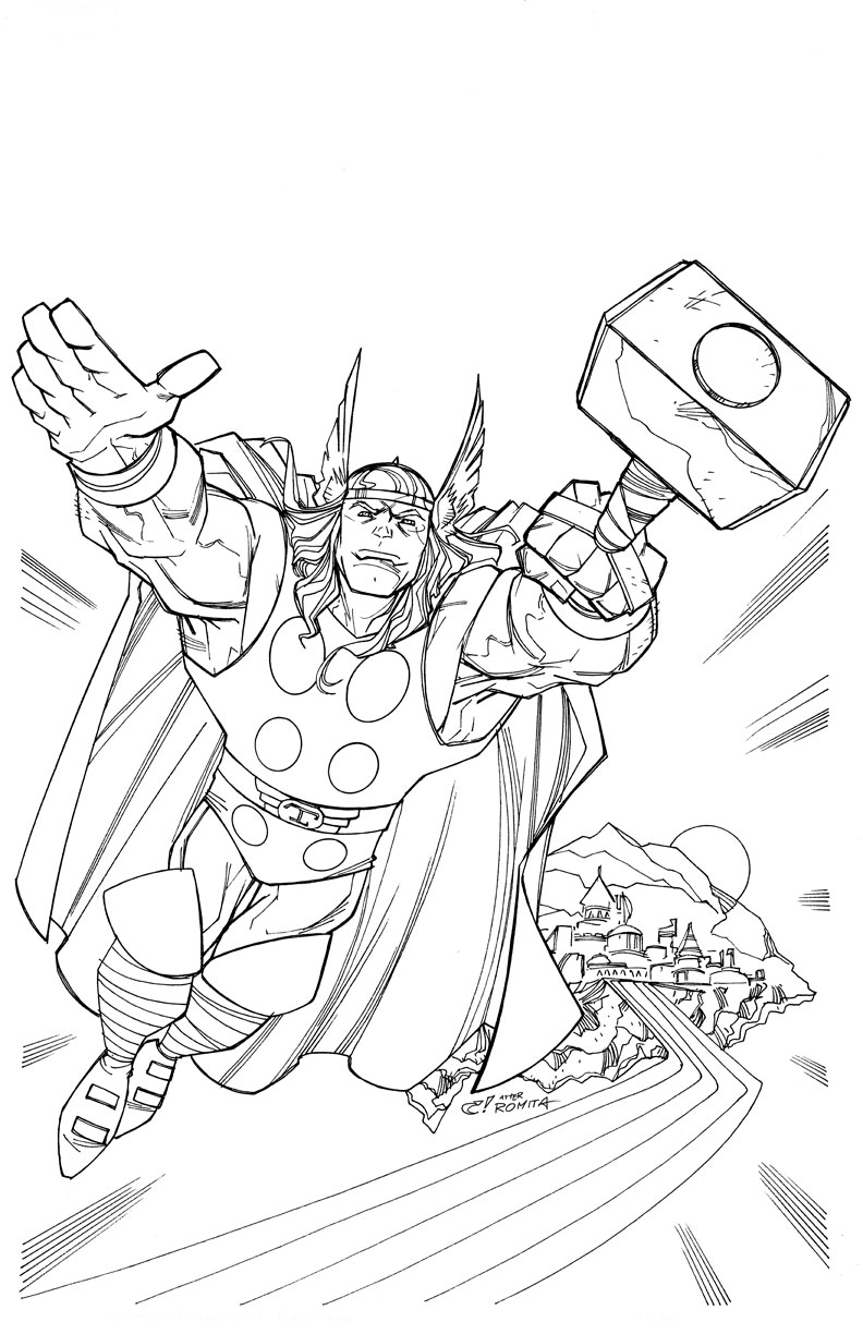 Avengers #74139 (Superheroes) - Printable coloring pages