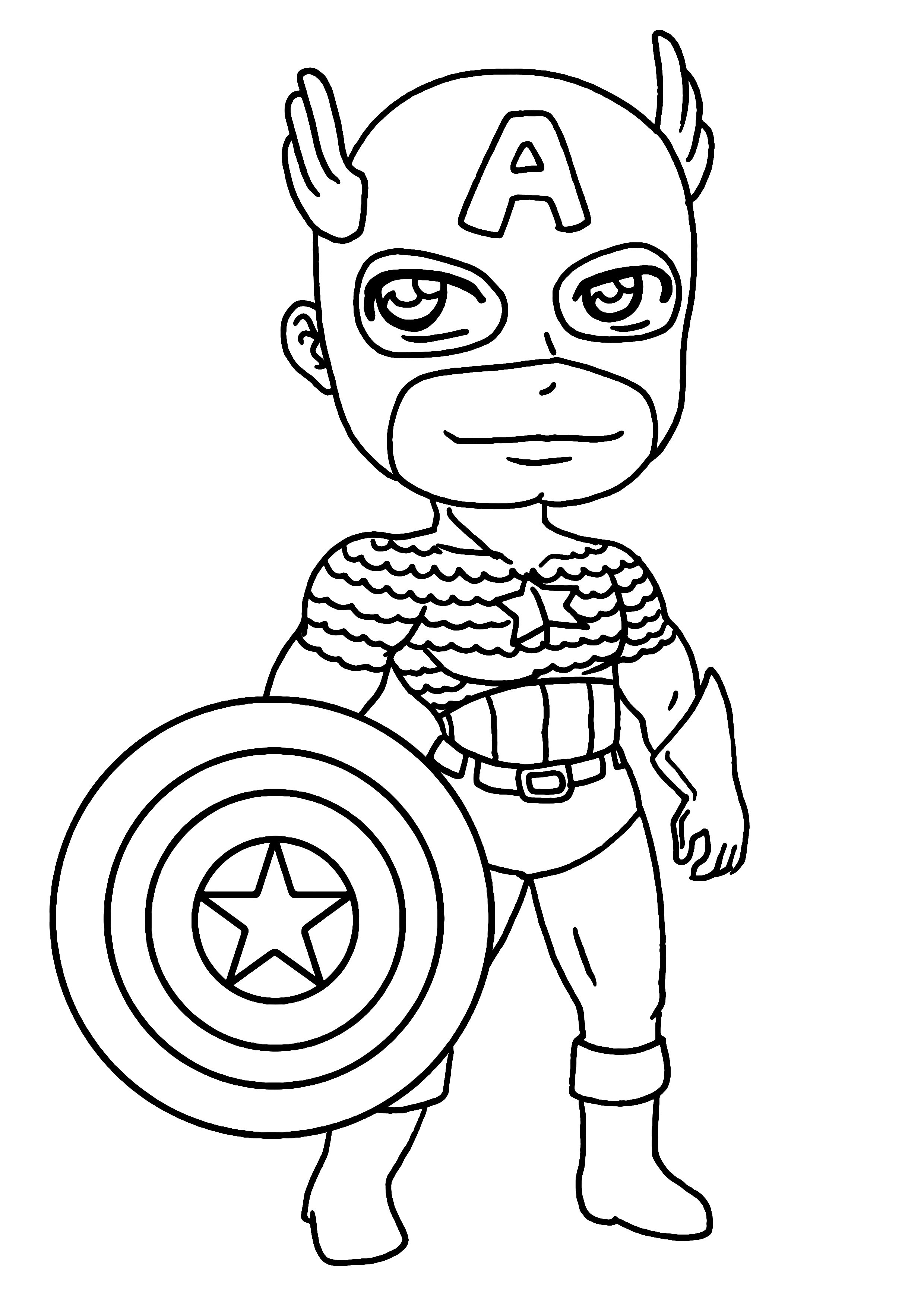 Captain America 76584 Superheroes Printable Coloring Pages