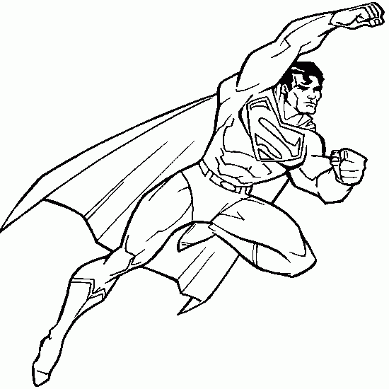 - DC Comics Super Heroes (Superheroes) – Printable Coloring Pages