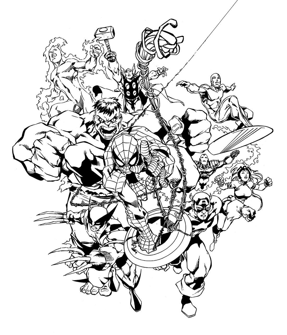 Dc Comics Super Heroes 80121 Superheroes Printable Coloring Pages