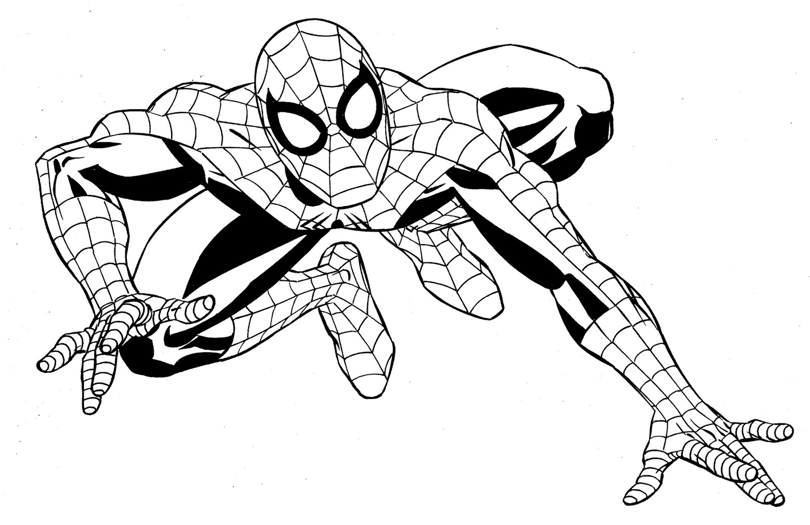 Superheroes - Printable coloring pages