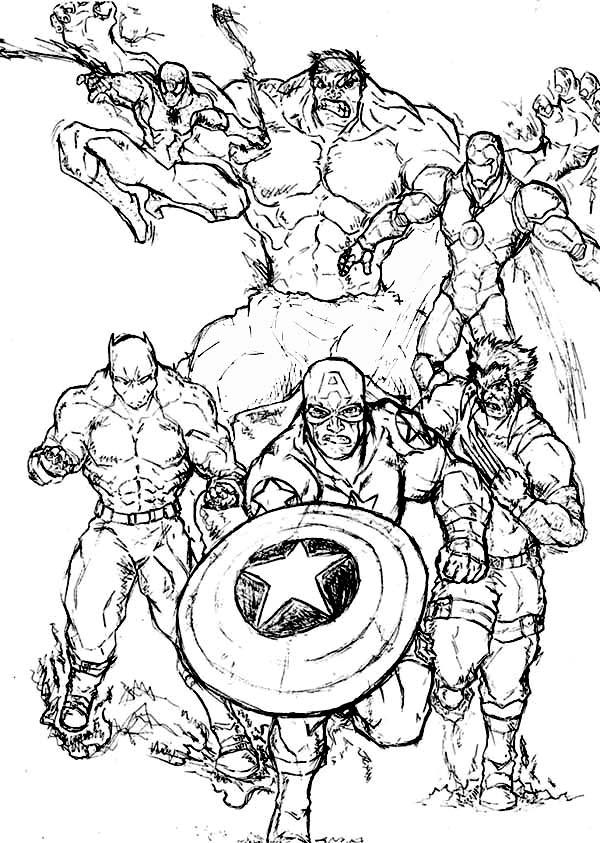 Marvel Super Heroes #79612 (Superheroes) – Printable Coloring Pages