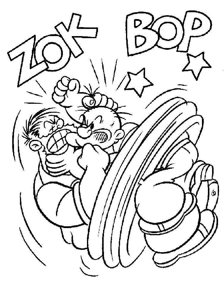 Popeye 84731 Superheroes Printable Coloring Pages