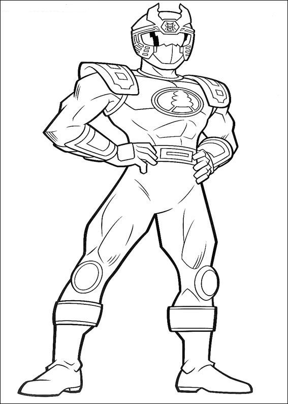 - Power Rangers #49951 (Superheroes) – Printable Coloring Pages