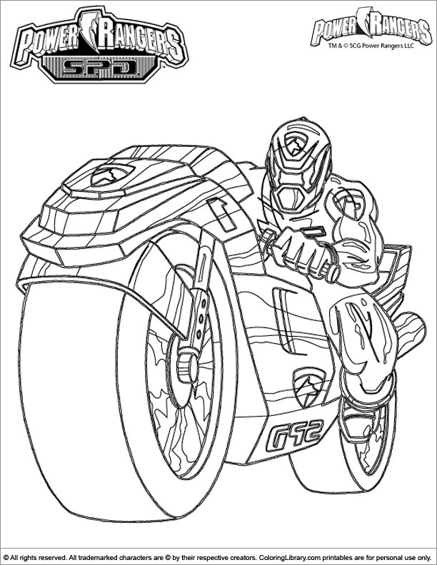 - Power Rangers #49992 (Superheroes) – Printable Coloring Pages