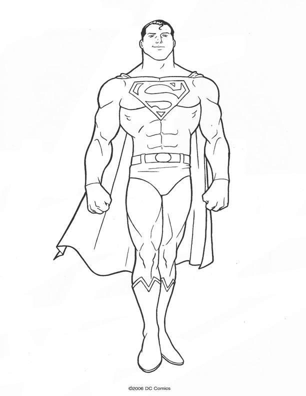 superman superheroes printable coloring pages printable coloring pages
