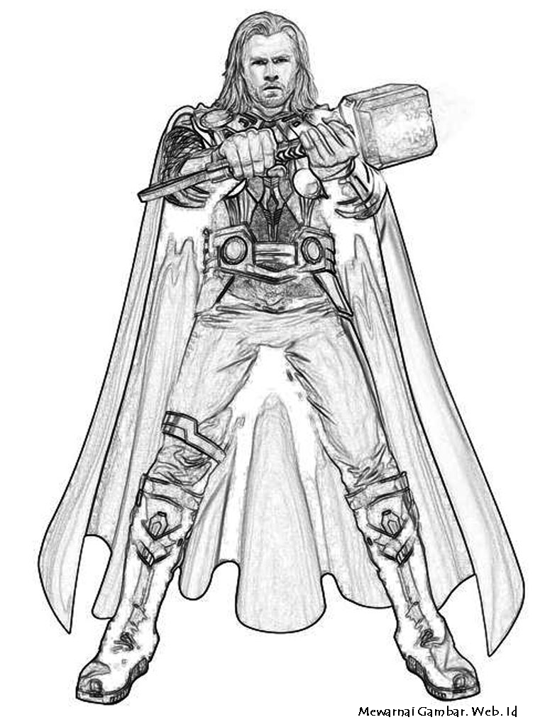Thor #75840 (Superheroes) - Printable coloring pages
