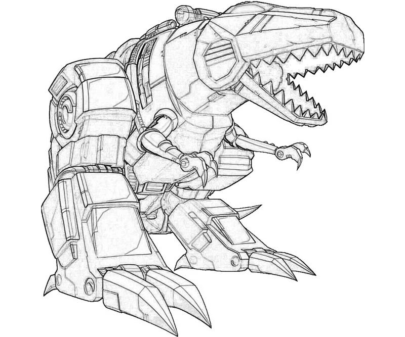 - Transformers (Superheroes) – Printable Coloring Pages