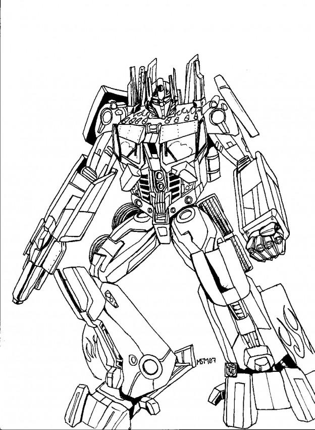 Transformers #75148 (Superheroes) – Printable Coloring Pages
