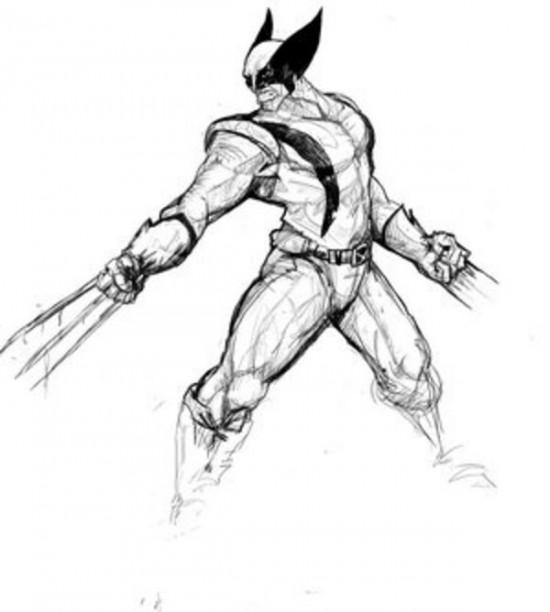 Wolverine 74858 Superheroes Printable Coloring Pages