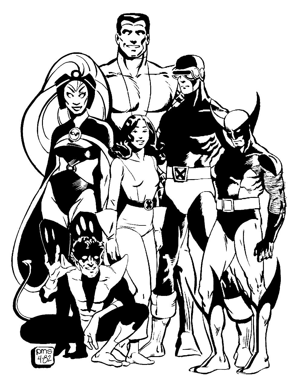 Wolverine #7 (Superheroes) – Printable coloring pages