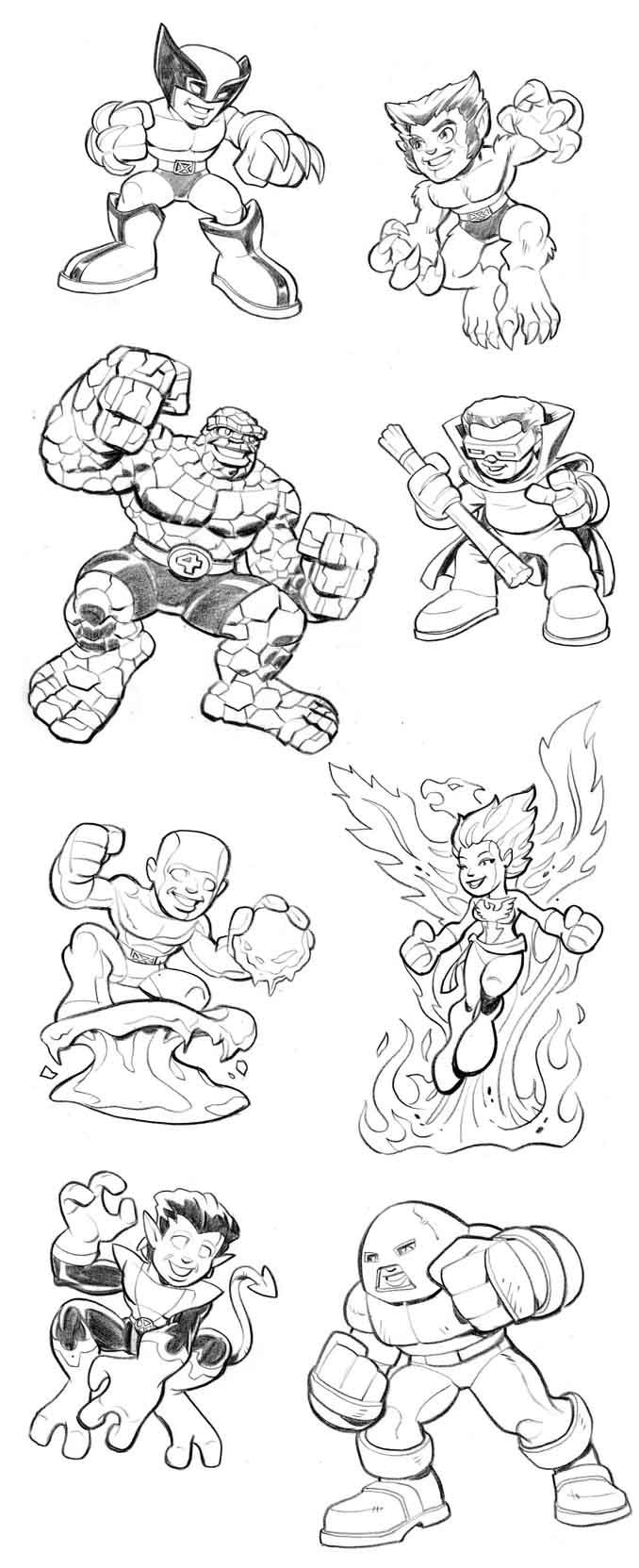 Wolverine 74948 Superheroes Printable Coloring Pages