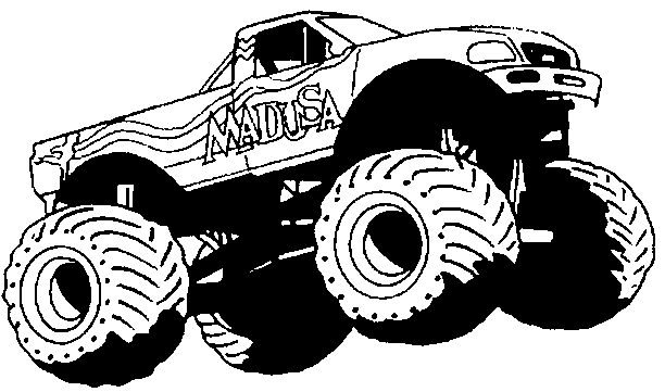 Monster Truck 141339 Transportation Printable Coloring Pages