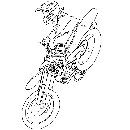 - Motocross #136515 (Transportation) – Printable Coloring Pages