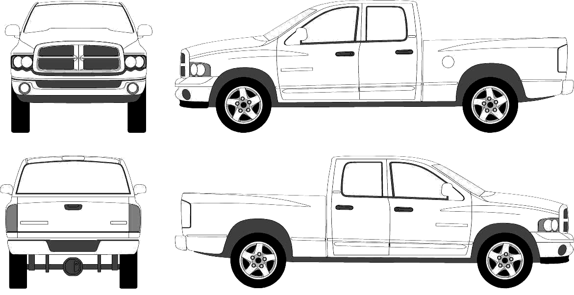 - Pickup #144316 (Transportation) – Printable Coloring Pages