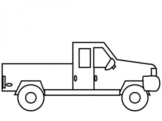 - Pickup #144519 (Transportation) – Printable Coloring Pages