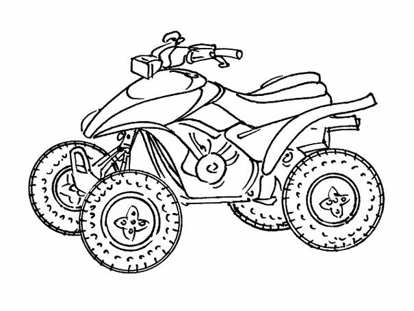 quad / atv #143188 (transportation) - printable coloring pages