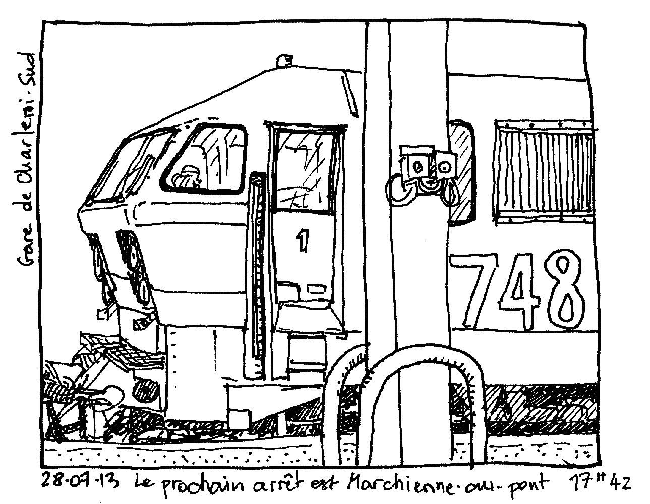 Train / Locomotive #135133 (Transportation) - Printable ...