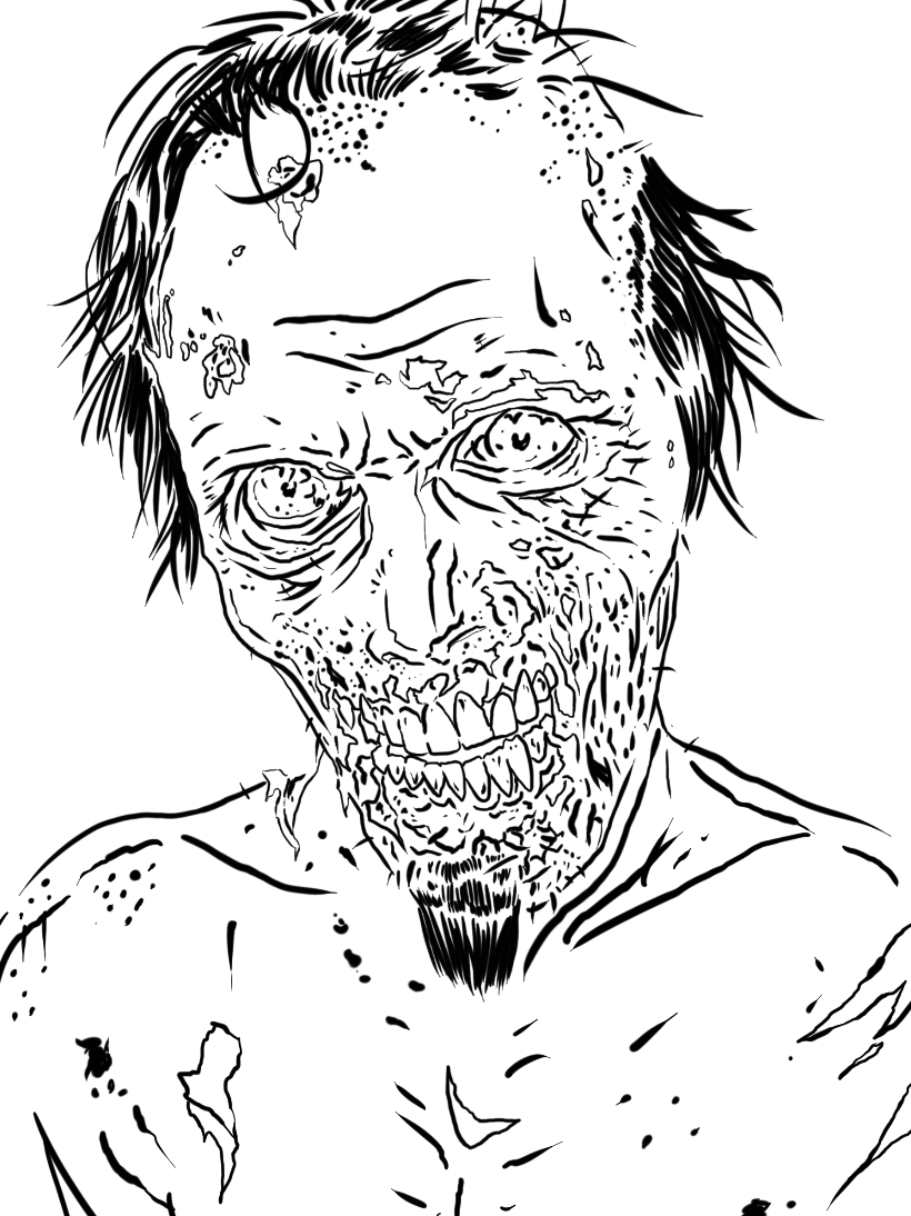 The Walking Dead 152106 Tv Shows Printable Coloring Pages