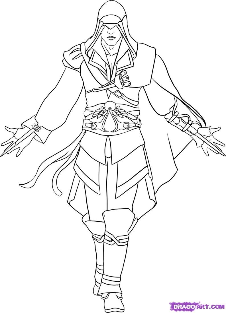 Assassin S Creed 111925 Video Games Printable Coloring Pages