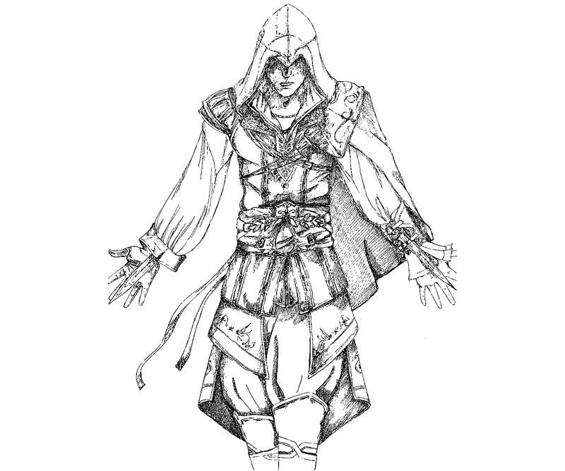 Assassin S Creed 111927 Video Games Printable Coloring Pages