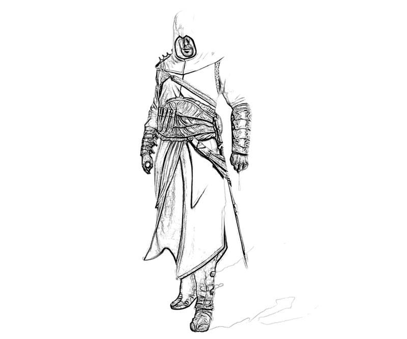 Assassin S Creed 111937 Video Games Printable Coloring Pages