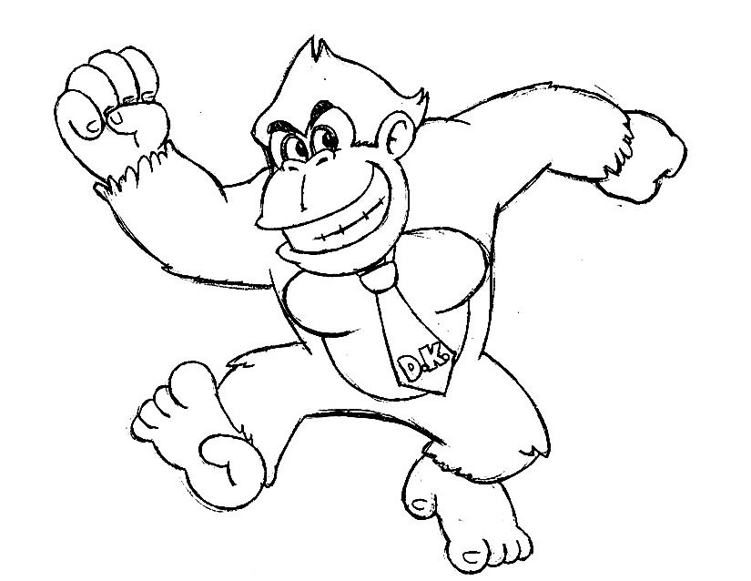 Donkey Kong (Video Games) - Page 2 - Printable coloring pages