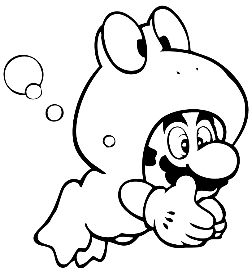 Mario Bros (Video Games) - Page 5 - Printable coloring pages