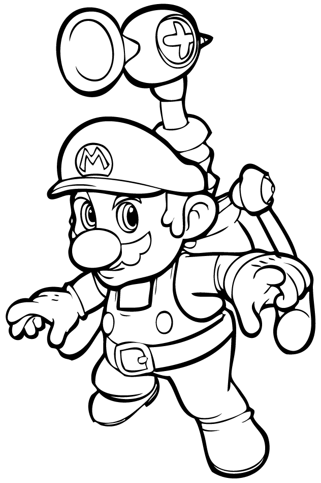 Mario Bros #112486 (Video Games) - Printable coloring pages
