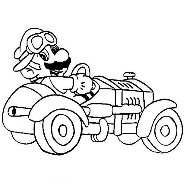 Mario Bros #43 (Video Games) - Printable coloring pages
