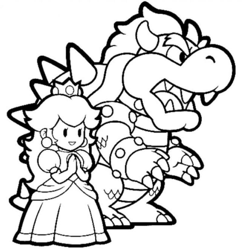 Mario Bros #126 (Video Games) - Printable coloring pages