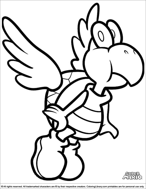 Mario Bros #112602 (Video Games) – Printable Coloring Pages