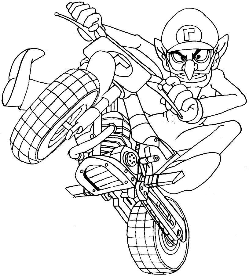 - Mario Kart #154443 (Video Games) – Printable Coloring Pages