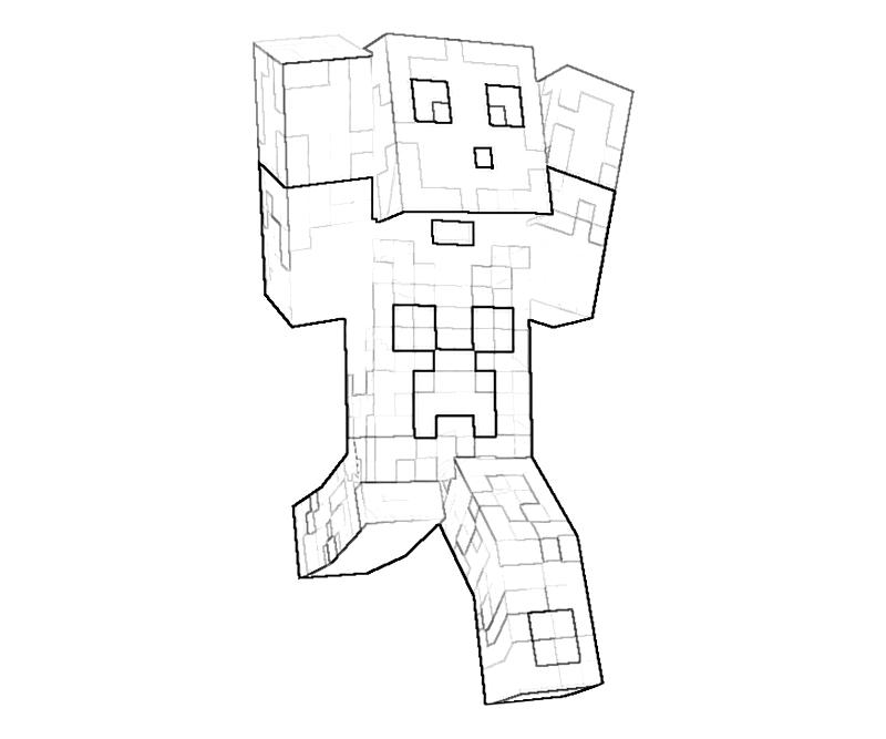 - Minecraft #113779 (Video Games) – Printable Coloring Pages